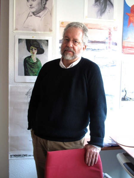 Pedro Sorela en su despacho © karina beltrán. 2013