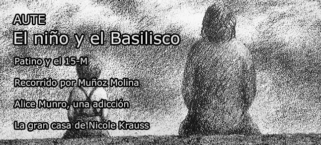 """Ilustración de Luís Eduardo Aute incluída en su libro """"El Niño y el Basilisco"""""""