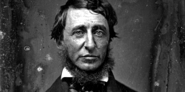 Henry David Thoreau. Retrato realizado por Benjamin D. Maxham (daguerrotipo) en Junio de 1856.
