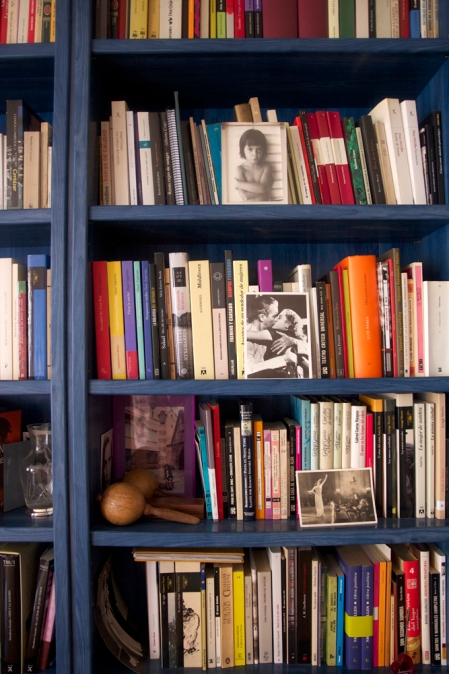 El rincón de lectura de Marta Sanz © Karina Beltrán. 2013