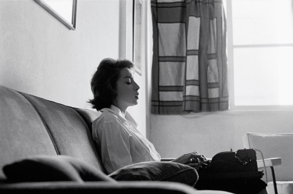 Clarice Lispector por Claudia Andujar © 1961