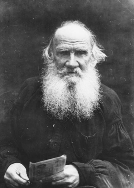 Tolstoi. Fotografía de dominio público