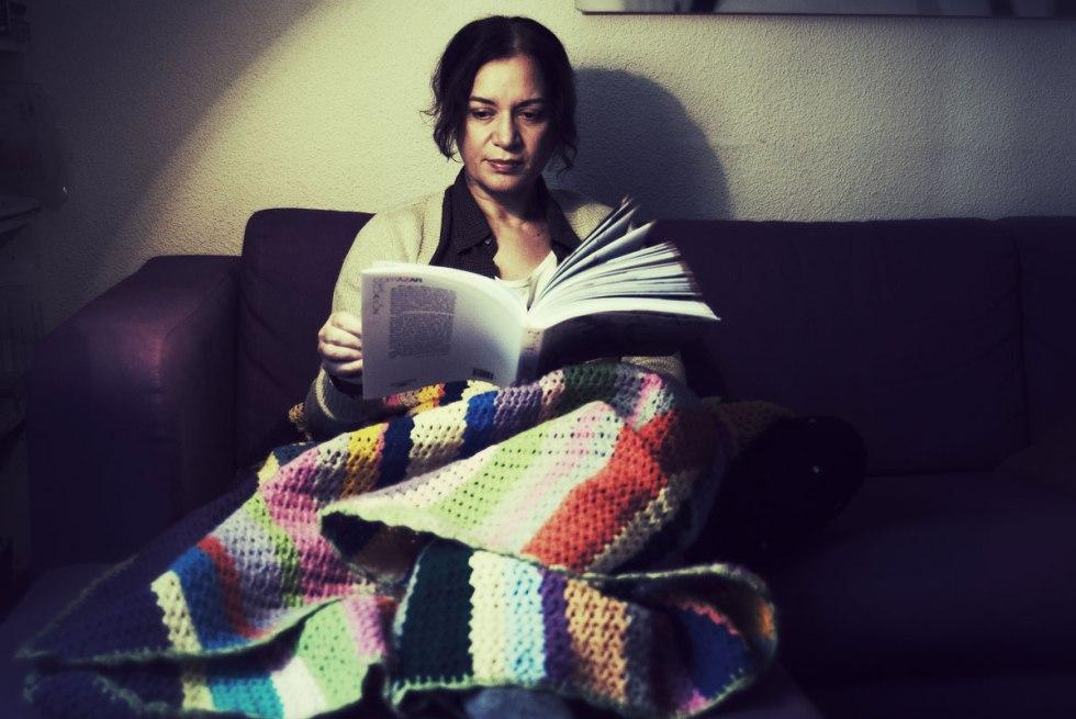 Emma Rodríguez. Interior con Cortazar. Nacho Goberna © 2014