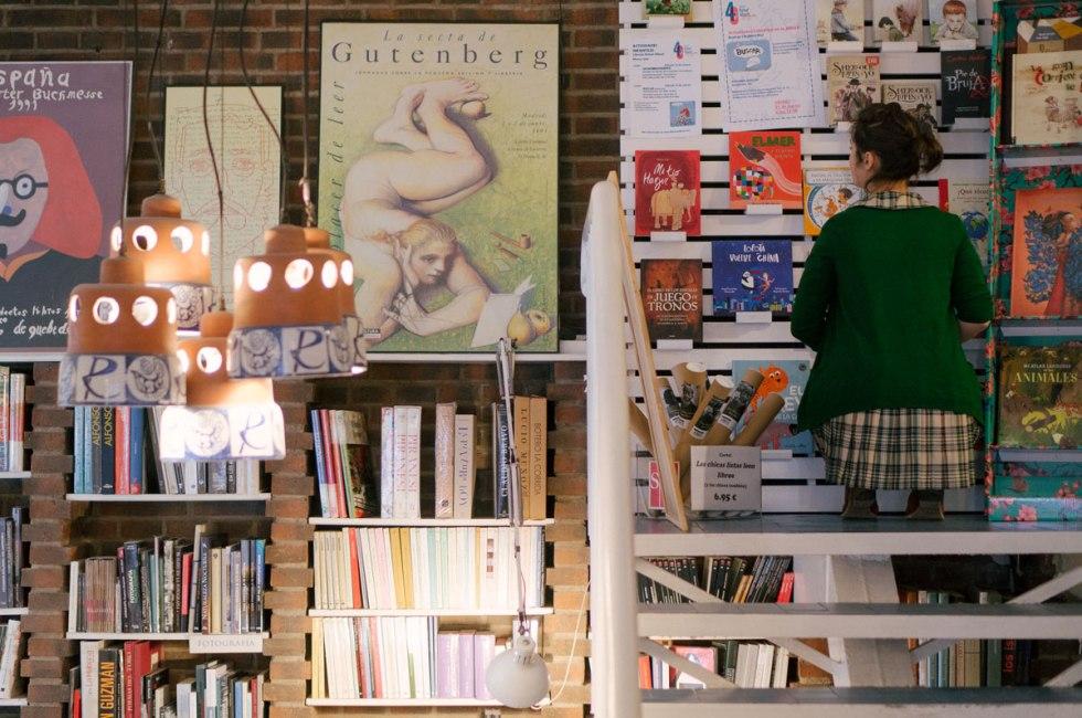 Librería Rafael Alberti. Madrid. Por Nacho Goberna © 2015