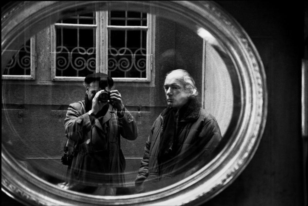 Thomas Bernhard. Viena. 1988 © Sepp Dreissinger
