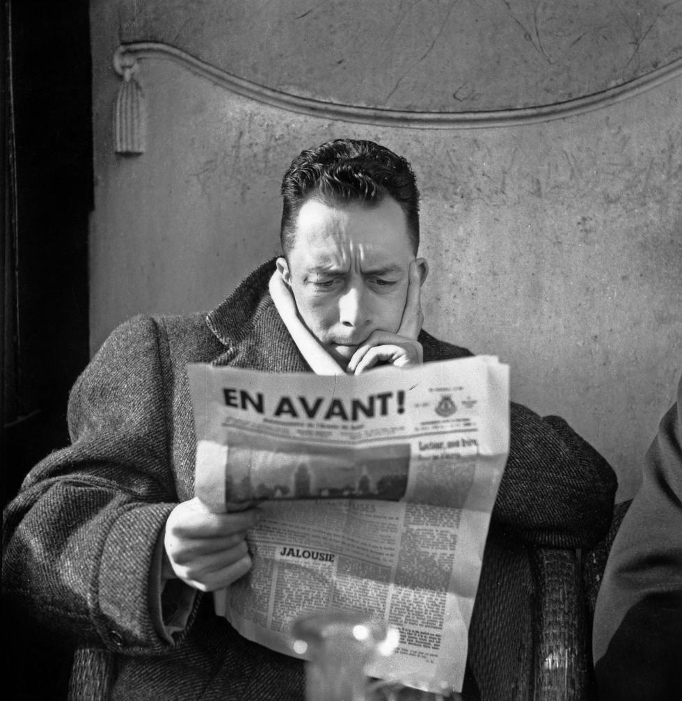 Albert Camus (1913-1960), periodista redactor en jefe del periódico