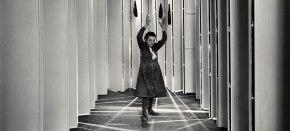 Con Louise Bourgeois en susguaridas