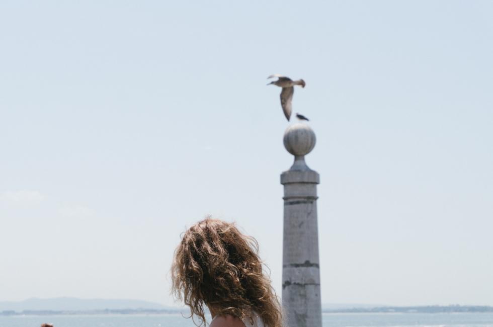 Emma Rodríguez en Lisboa. Fotografía por Nacho Goberna © 2016