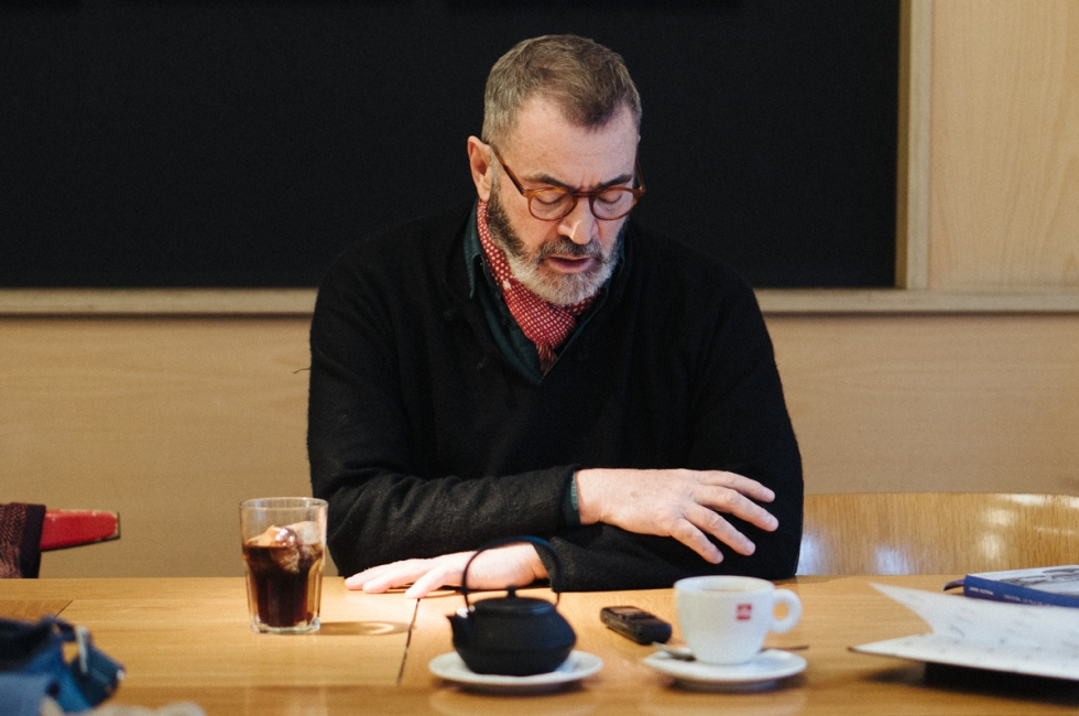 Jordi Esteva. Fotografía por Nacho Goberna © 2016